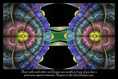 Digital Art - Forgive by Missy Gainer