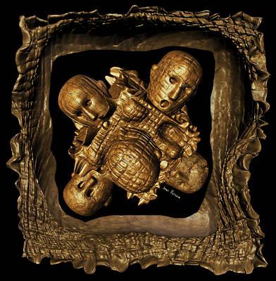 Rhythm And Blues Digital Art - Forgiveness Is The Remission Of Sins .. Living Sins In A Box by Sir Josef - Social Critic -  Maha Art