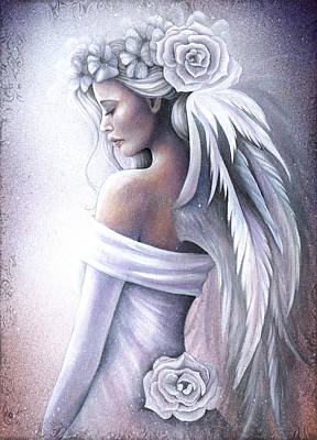 Angel Art Painting - Forgiveness by Jessica Galbreth