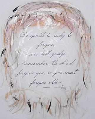 Forgiveness Original by Marian Palucci-Lonzetta