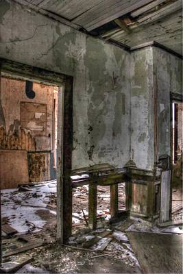 Photograph - Forgotten 7 by Michaela Preston