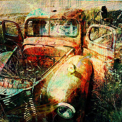Digital Art - Forgotten by Barbara Berney
