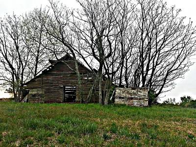 Photograph - Forgotten Barn by Sarah E Kohara