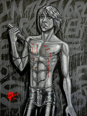 Painting - Forgotten Boy by Lance Vaughn