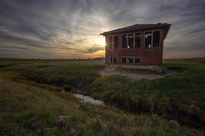 Photograph - Forgotten Bricks by Aaron J Groen