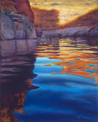 Painting - Forgotten Canyon by Marjie Eakin-Petty