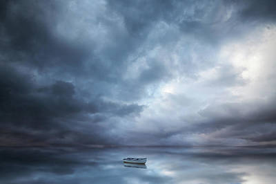 Cloudy Photograph - Forgotten by Christian Lindsten