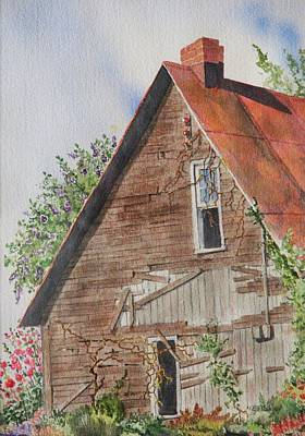 Painting - Forgotten Dreams Of Old by Mary Ellen Mueller Legault