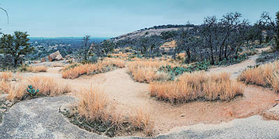 Photograph - Forgotten - Enchanted Rock Texas Hill Country by Silvio Ligutti