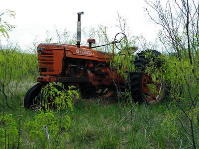 Photograph - Forgotten Farmall by The GYPSY