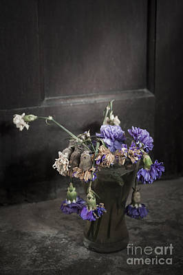 Shed Mixed Media - Forgotten Flowers by Svetlana Sewell