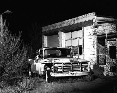 Art Print featuring the photograph Forgotten Ford by Christopher McKenzie