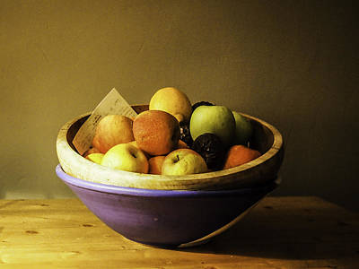 Photograph - Forgotten Fruit Bowl by Michael Canning