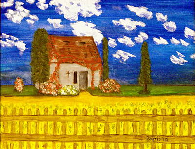 Painting - Forgotten In Provence by Larry Farris
