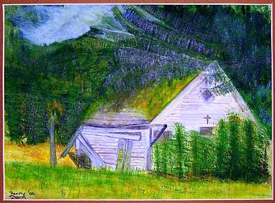 Painting - Forgotten In The Smokies by Larry Farris