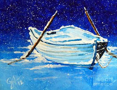 Stellar Interstellar - Forgotten Rowboat by Jackie Carpenter