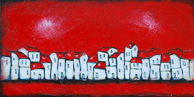Cityscape Painting - Forgotten Memories by Nebojsa Jovanovic NESAART