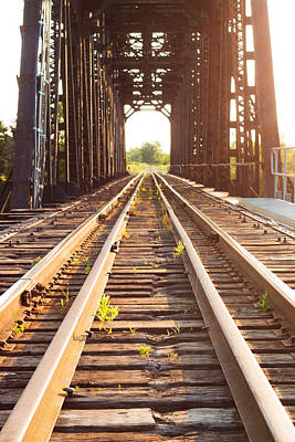 Forgotten Railroad Art Print