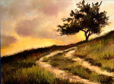 Pastel - Forgotten Road by Susan Jenkins