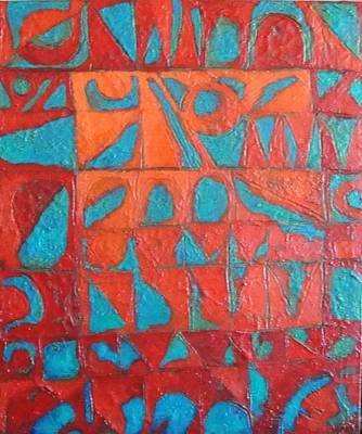 Forgotten Runes Of Ljung Art Print by Bernard Goodman