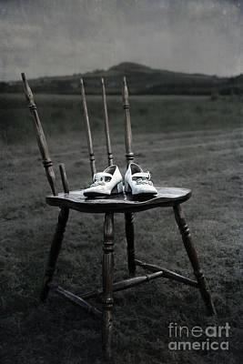 Suburban Digital Art - Forgotten Shoes by Svetlana Sewell