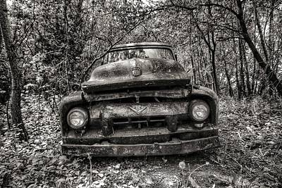 Photograph - Forgotten Truck by Michaela Preston