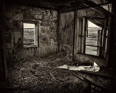 Forgotten Art Print by Wayne Wood