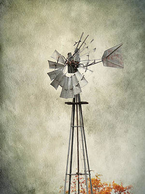 Photograph - Forgotten Windmill by Steve McKinzie