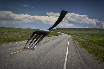 Fork In The Road Art Print