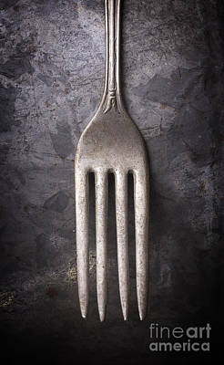Photograph - Fork Still Life by Edward Fielding