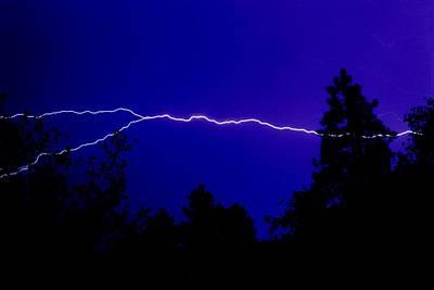 Forked Lightning Art Print by Alfredo Martinez