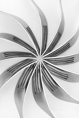 Modern Abstract Digital Art - Forks Viii by Natalie Kinnear