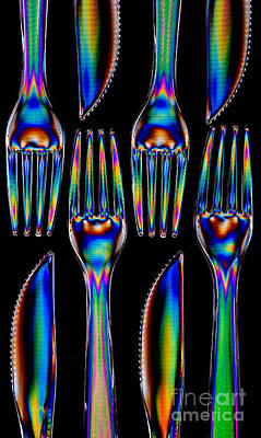 Photograph - Forks'n Knives by Steve Purnell