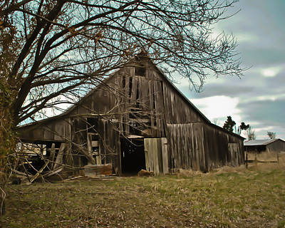 Forlorn Barn Art Print by Greg Jackson