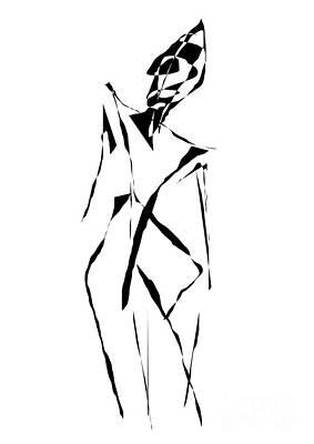Digital Art - Form 091 Marucii by Marek Lutek