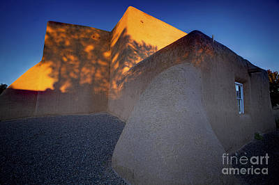 Form And Shadow--san Francisco De Asis - Color Art Print by Gary Holmes