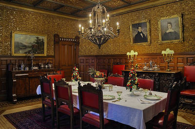 Banquet Photograph - Formal Dining Room by Susan Candelario