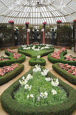 Formal Gardens Phipps Conservatory Art Print by Cyril Furlan