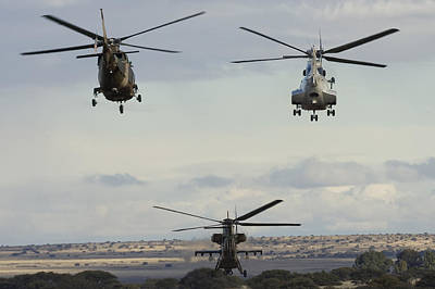 Agustawestland Aw109 Photograph - Formation Only by Paul Job