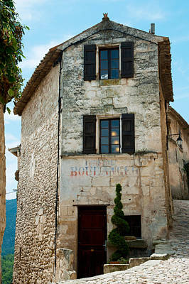 Bakery Photograph - Former Bakery, Lacoste, Vaucluse by Panoramic Images