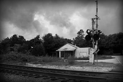 Train Tracks Photograph - Former Life by Kelly Hazel