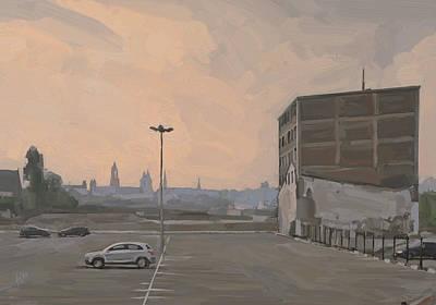 Digital Art - Former Sphinx Factory Maastricht by Nop Briex