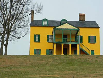 1-war Is Hell Royalty Free Images - Formerly Commanding Officers Quarters - Fort Washington MD Royalty-Free Image by Emmy Vickers