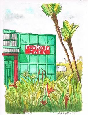 Formosa Cafe In Hollywood, California Original by Carlos G Groppa