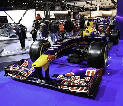 Formula One Race Car Print by E Osmanoglu