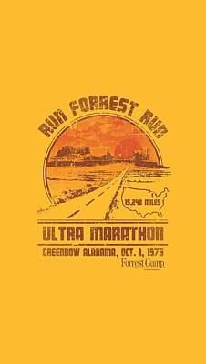 Epic Digital Art - Forrest Gump - Ultra Marathon by Brand A