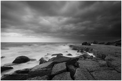 Photograph - Forresters Storm by Steve Caldwell