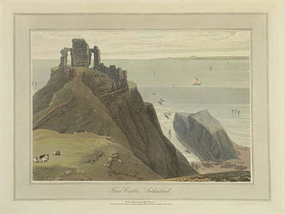 Forse Castle In Sutherland Art Print by British Library