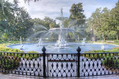 Photograph - Forsyth Park Fountain by Bradford Martin