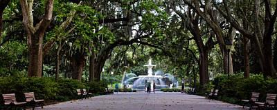 Photograph - Forsyth Park Fountain Savannah  by John McGraw